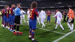 Real Madrid FC Barcelona Ehrenspalier 07052008