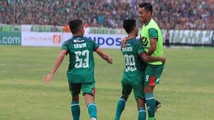 Selebrasi PSMS Medan - Suhandi