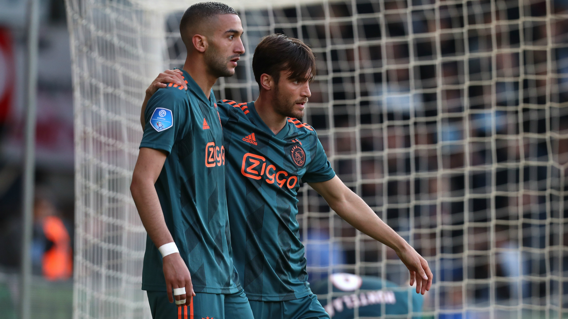 Hakim Ziyech Nicolas Tagliafico Ajax 05152019