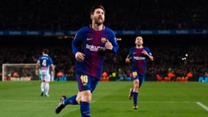 Lionel Messi Barcelona Espanyol Copa del Rey 25012018