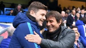 Mauricio Pochettino Tottenham Antonio Conte Chelsea 01042018