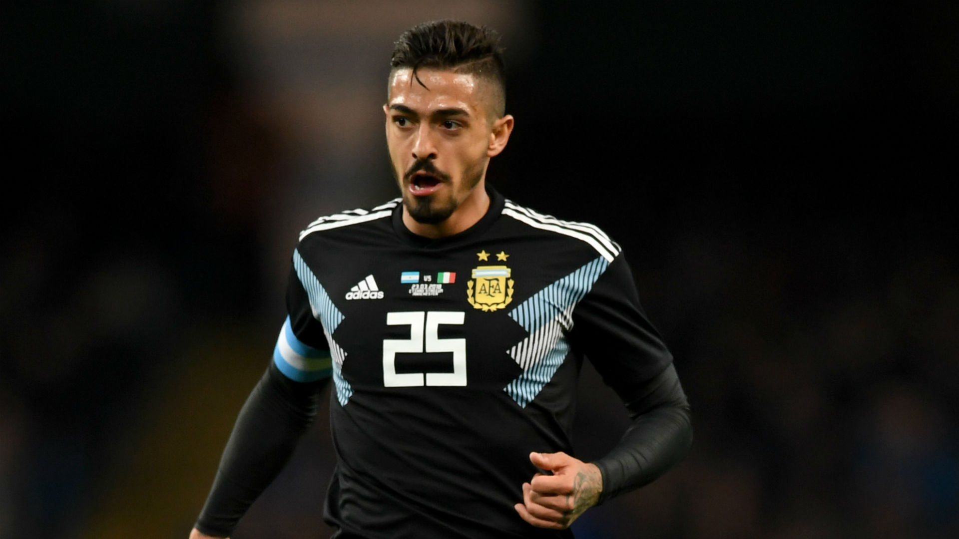 Argentina replace injured Manuel Lanzini with River Plate star Enzo Perez