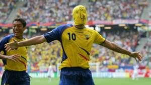 Ivan Kaviedes Ecuador Costa Rica 2006 World Cup