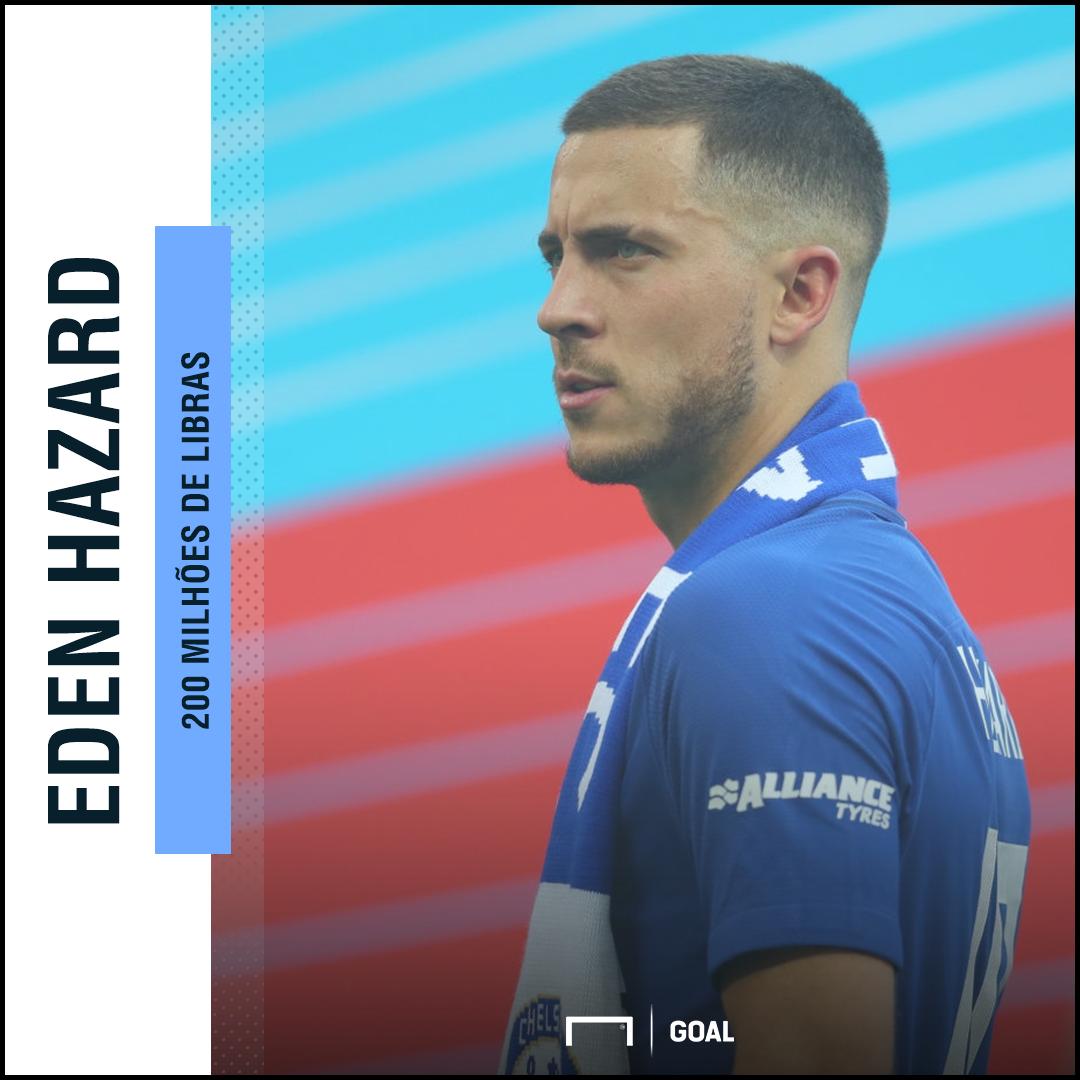Chelsea quer fortuna por Hazard