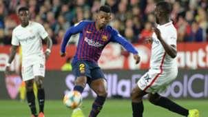 Nelson Semedo Ibrahim Amadou Sevilla Barcelona Copa del Rey 23012019