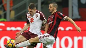 Andrea Belotti Leonardo Bonucci Torino AC Milan