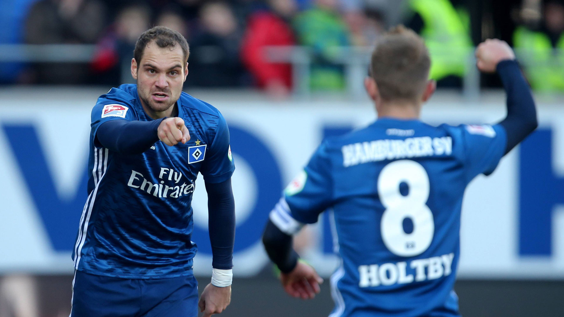 ONLY GERMANY Pierre-Michel Lasogga HSV Hamburger SV Bundesliga 16022019