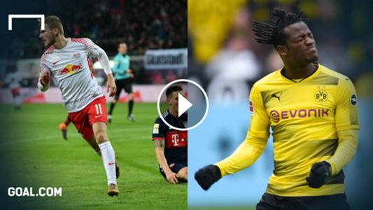 GFX Bundesliga Highlights Timo Werner Benjamin Stambouli