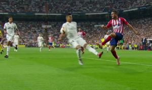 Casemiro mano Real Madrid Atlético mano