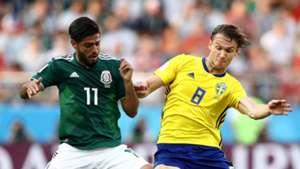 Carlos Vela Albin Ekdal Sweden Mexico World Cup 2018