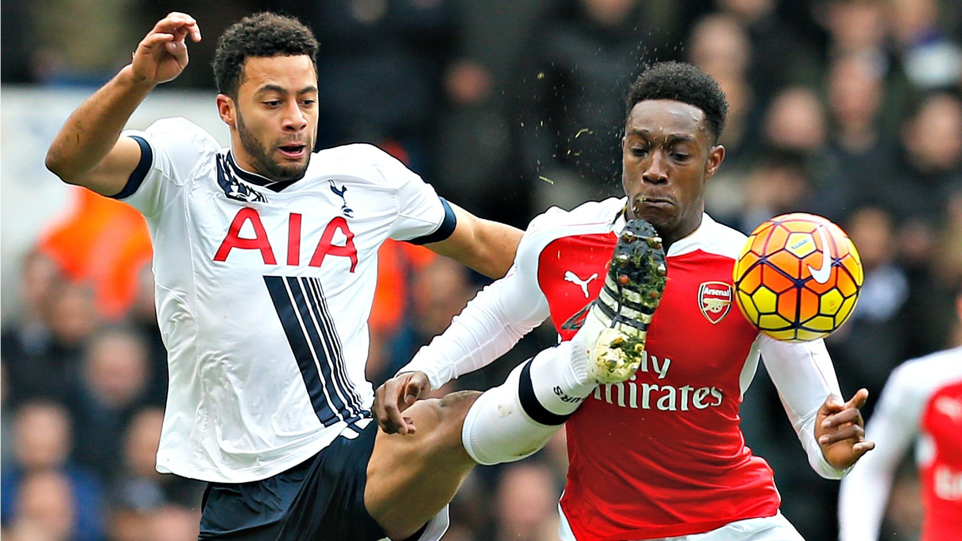 Dembele Welbeck Tottenham Arsenal 05032015