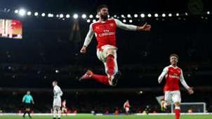 Olivier Giroud Premier League Arsenal v West Brom 231616