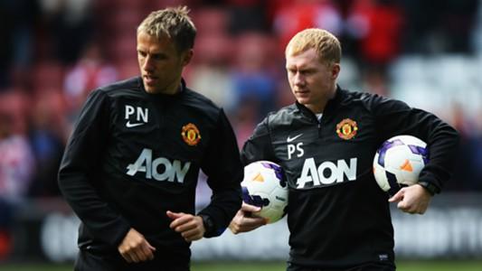 Paul Scholes & Phil Neville | Manchester United
