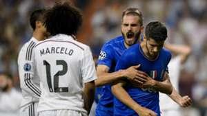Alvaro Morata Vidal Real Madrid Juventus Champions League 13052015