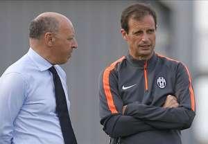 Massimiliano Allegri Giuseppe Marotta Juventus