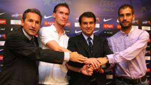 Aleksandr Hleb Pep Guardiola Barcelona