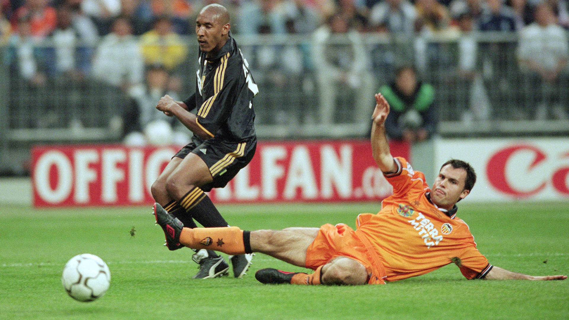 Nicolas Anelka Real Madrid Valencia Champions League