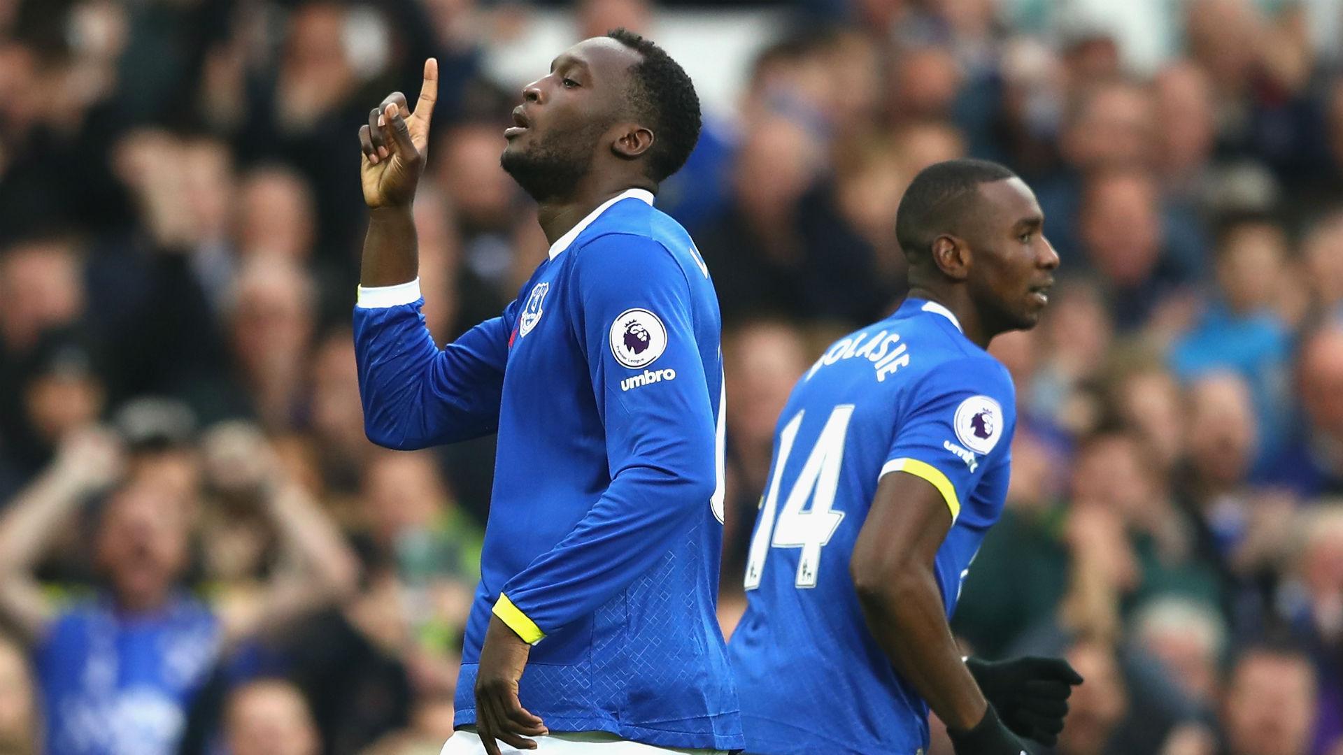 Romelu Lukaku & Yannick Bolasie Premier League Everton v West Ham 301016