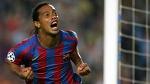 Ronaldinho Barcelona Udinese Champions League