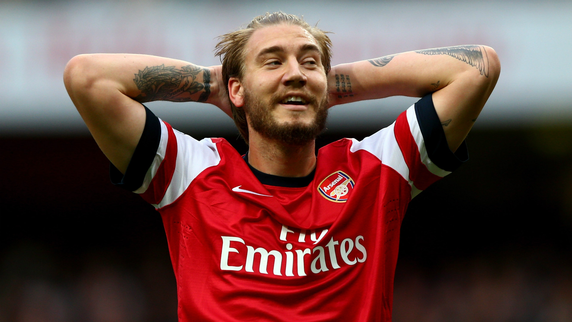 Nicklas Bendtner Arsenal Premier League