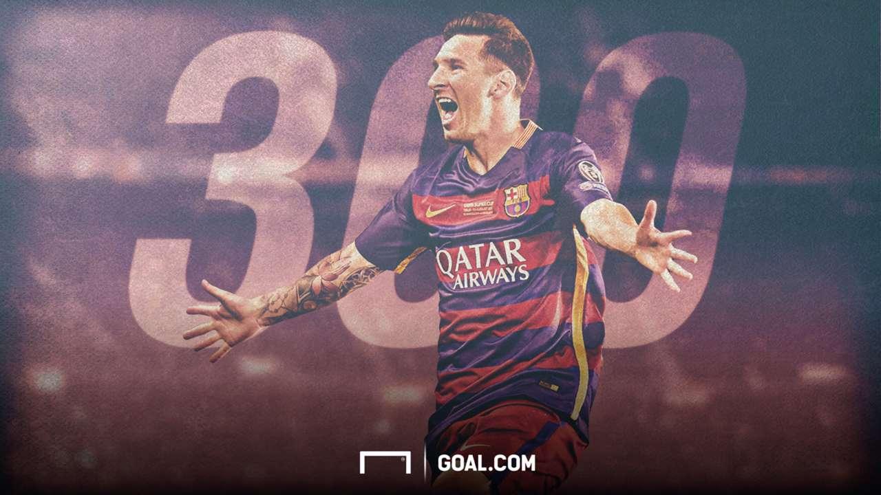 Messi 300