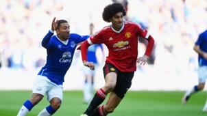 Marouane Fellaini FA Cup Everton v Man Utd 230416