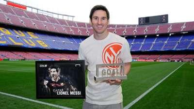 Lionel Messi Goal 50 Nou Camp