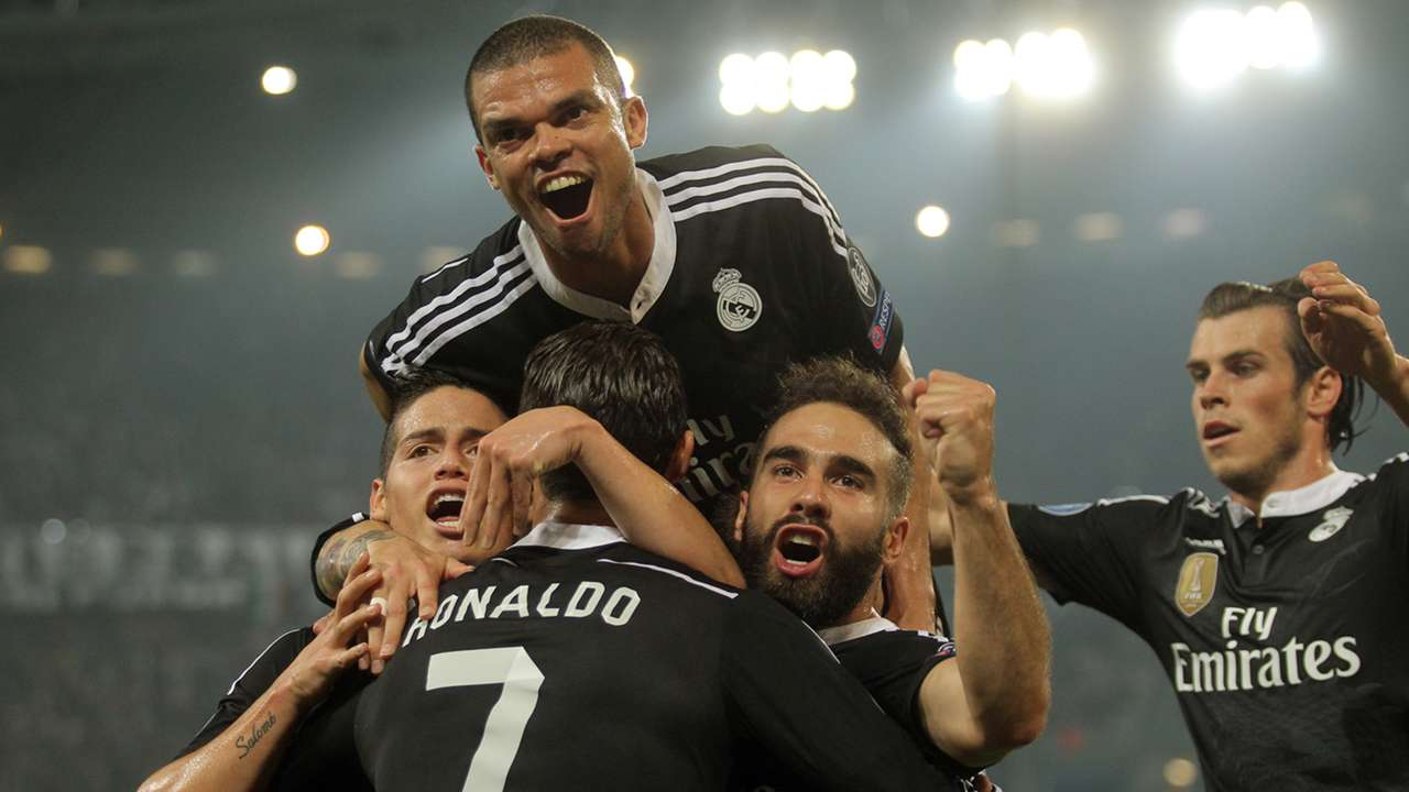 Cristiano Ronaldo Juventus Real Madrid Champions League 05052015