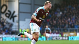 Scott Arfield Premier League Burnley v Everton 221016