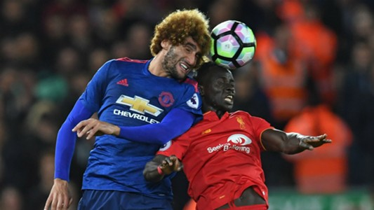 Marouane Fellaini Premier League Liverpool v Manchester United 171016