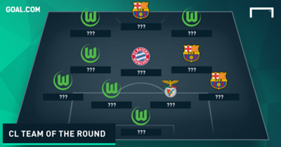 CL TEAM OF THE ROUND TEASE