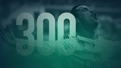 Cristiano Ronaldo 300 goals for Real Madrid