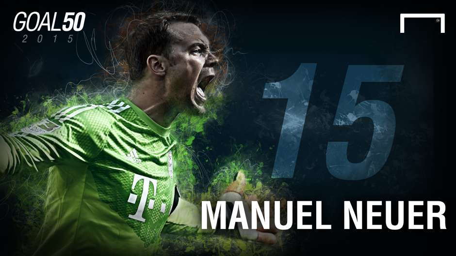 15 Manuel Neuer G50