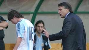 Lionel Messi Jose Pekerman Hungary Argentina 17082015