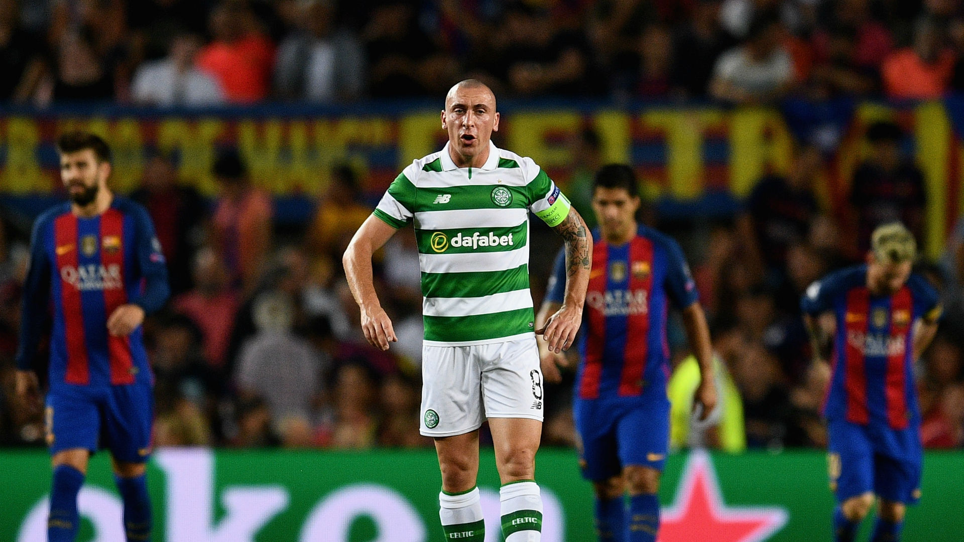 Scott Brown Celtic Barcelona 13092016