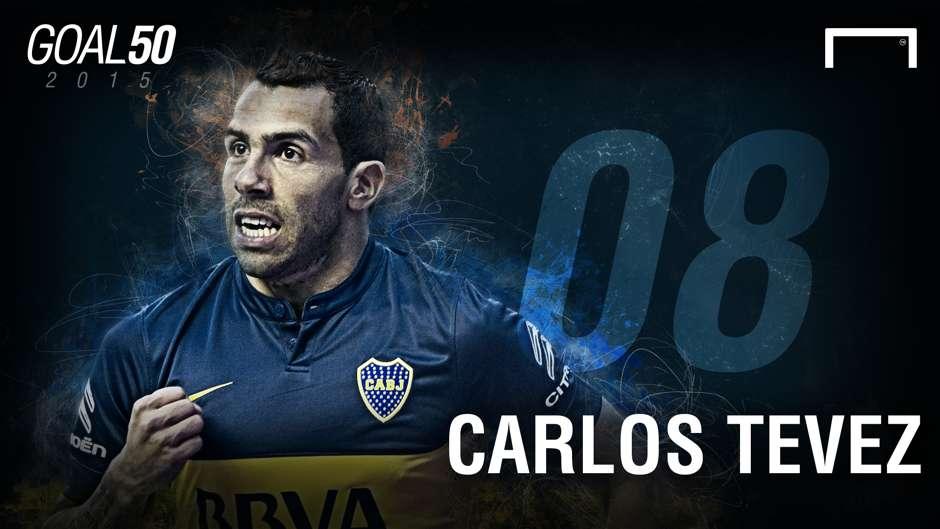 08 Carlos Tevez G50