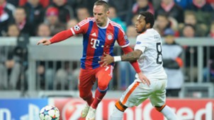 Franck Ribery Fred Bayern Munich Shakhtar Donetsk Champions League 11032015