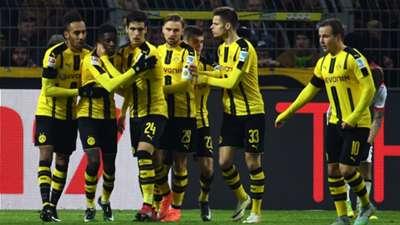 HD Borussia Dortmund celebrate