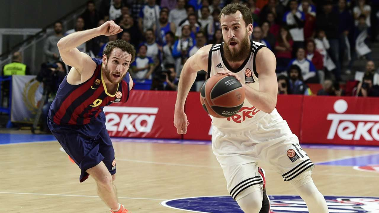 Barcelona Real Madrid Basketball 2015