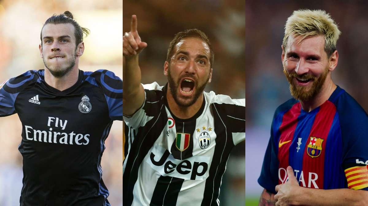 Bale Higuain Messi