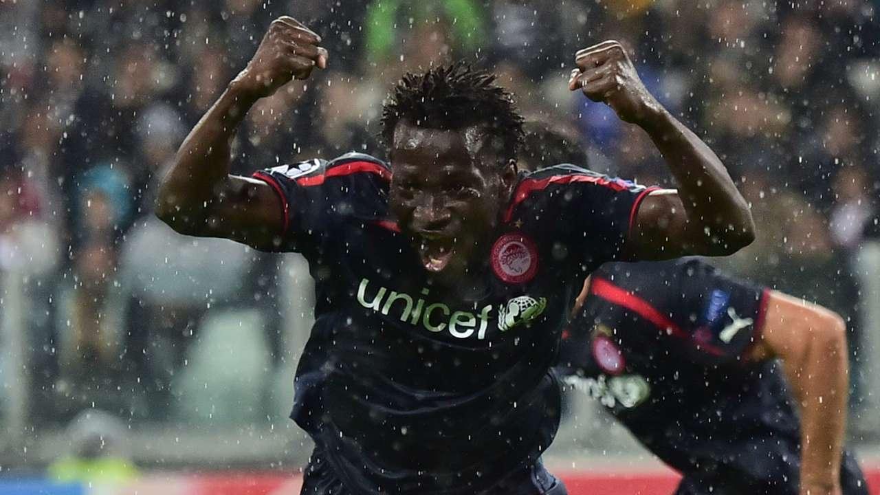 Delvin N'Dinga Olympiakos Juventus Champions League 04112014