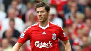 Neville's Liverpool XI Xabi Alonso