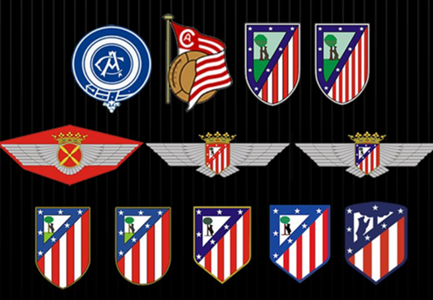 Atletico Madrid logos
