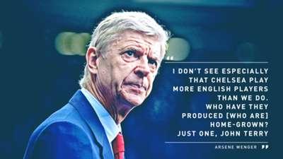 Arsene Wenger Arsenal Chelsea Quote 1