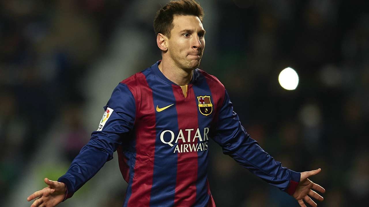 Lionel Messi Barcelona Elche 24012015