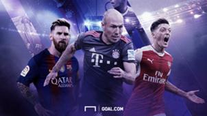 GFX UCLHP Barcelona Bayern Arsenal