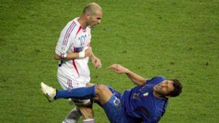 Zinedine Zidane & Marco Materazzi