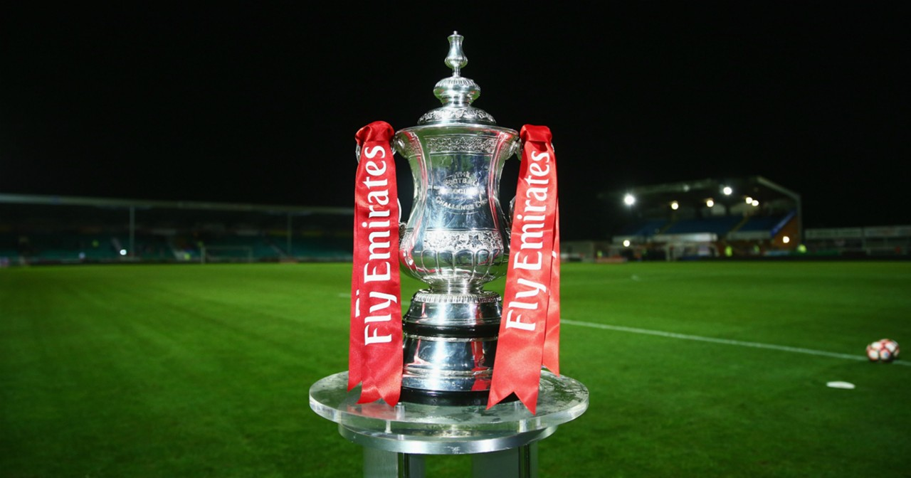 HP FA Cup trophy