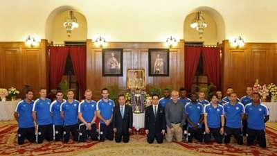 Leicester City Thailand Premier League trophy