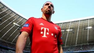 Franck Ribery Bayern Munich presentation Bundesliga 11072015